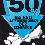 MASS 50% popust na svu zatvorenu obuću