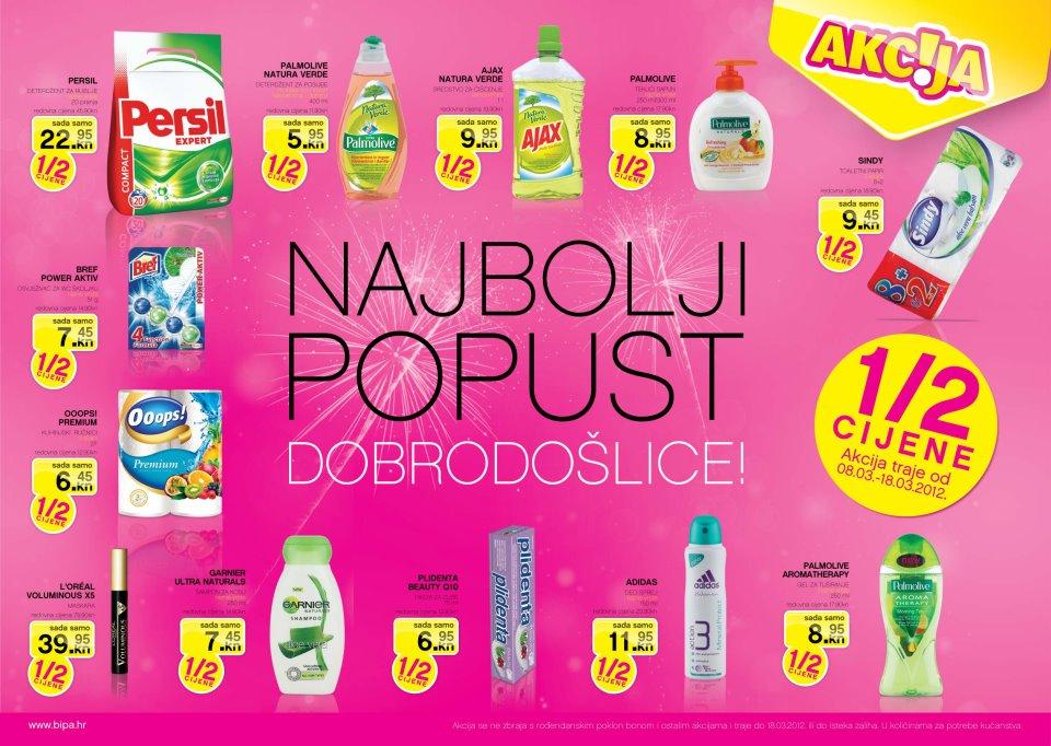 BIPA Hrvatska-otvorenje u Splitu
