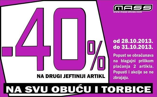 Dodatna Mass akcija listopad 2013