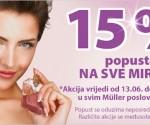 Muller popust na sve parfeme lipanj 2014