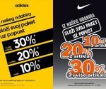 Top Sport akcija na Adidas i Nike