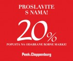 Peek Cloppenburg akcija studeni 2014