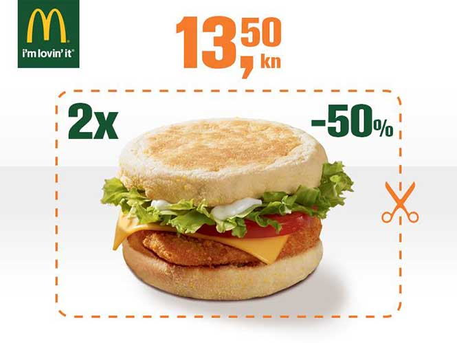 McDonald's kuponi svibanj lipanj 2014