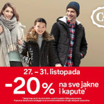 C&A akcija na jakne i kapute