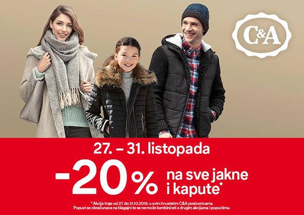 C&A akcija na zimske jakne! PROVJERI!  Popusti-hr.com:::