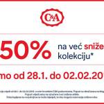 Snizenje u svim poslovnicama CA Hrvatska